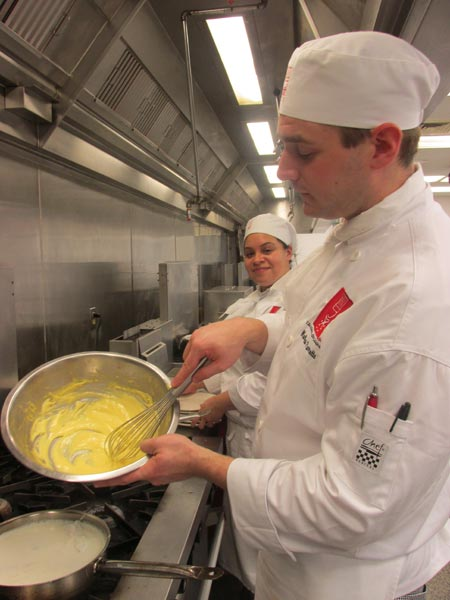 Hollandaise can smell fear l 39 academie de cuisine blog pot for Academie de cuisine