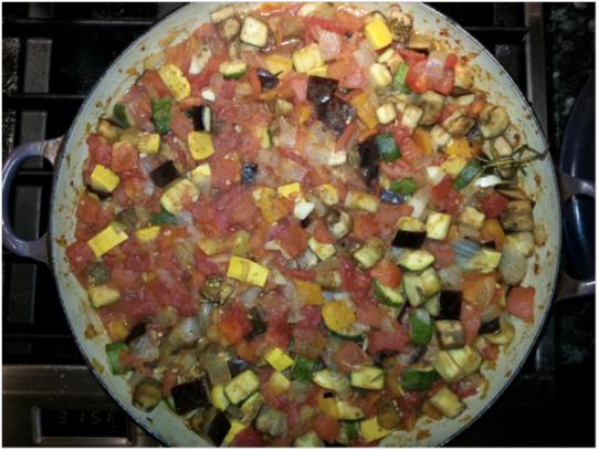 Ratatouille nicoise l 39 academie de cuisine blog pot for Academy de cuisine