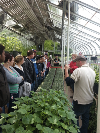 Culinary students visit ayrshire farm l 39 academie de for Academie de cuisine